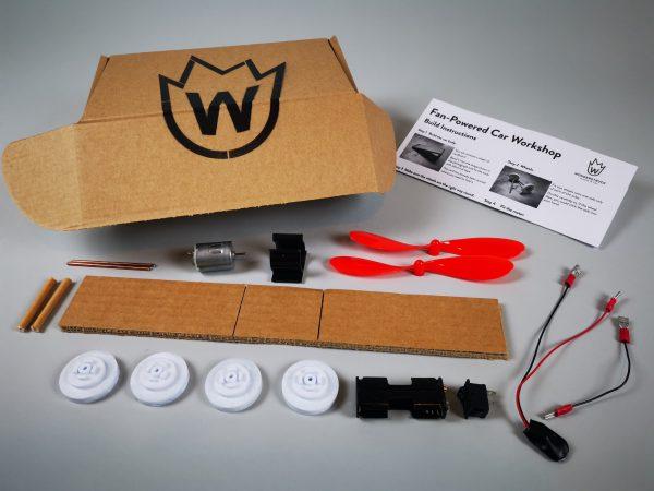 Fan-Powered Car Kit